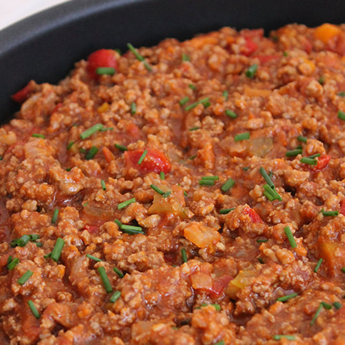 Rich and hearty bolognese sauce