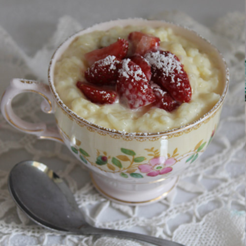 Homemade Rice Custard
