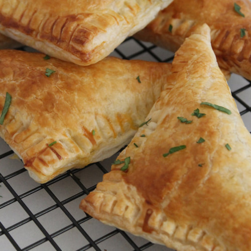 Family favourite - Homemade Spinach and Feta Pasties