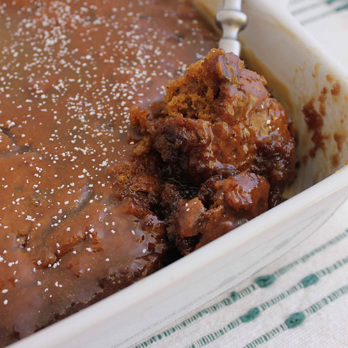 Sticky Date Pudding with Homemade Butterscotch Sauce